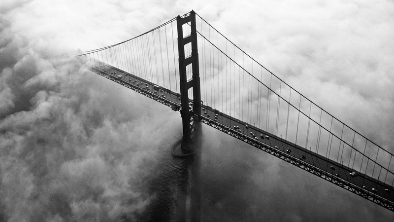 world golden gate bridge california san francisco monochrome 1920x1080 wallpaper_www.wallpaperhi.com_85