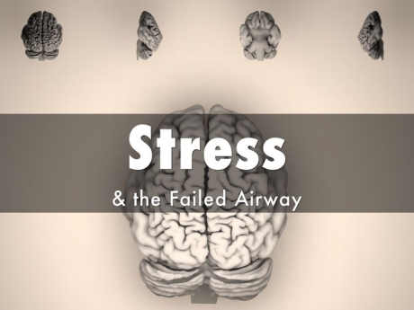 Avoid the three stress-related airway killers